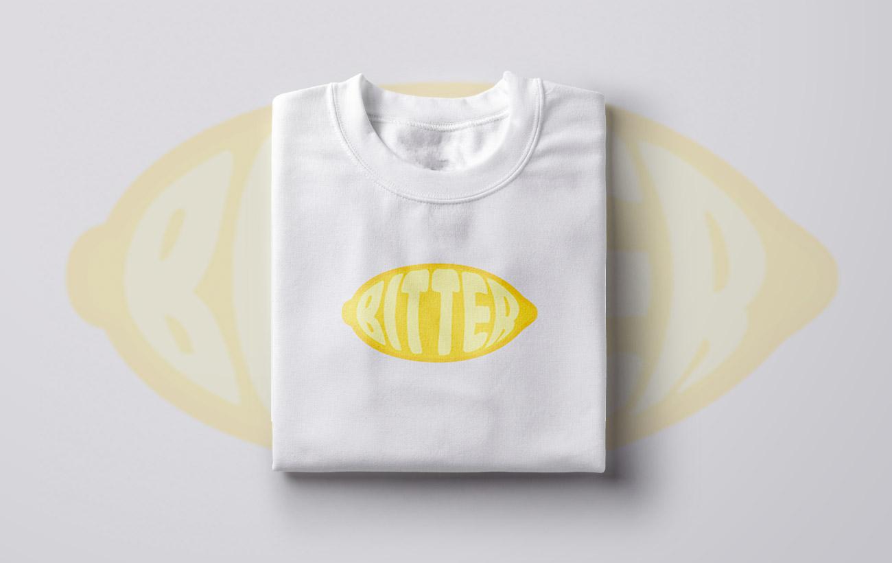Sierra Urwiler Bitter Lemon tshirt design