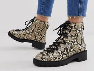 Hot combat boots
